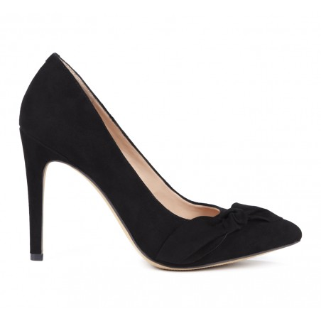 Sole Society - Suede bow pumps - Elisa - Black