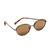 Elizabeth And James Fenn Sunglasses - Black/Brown Mono