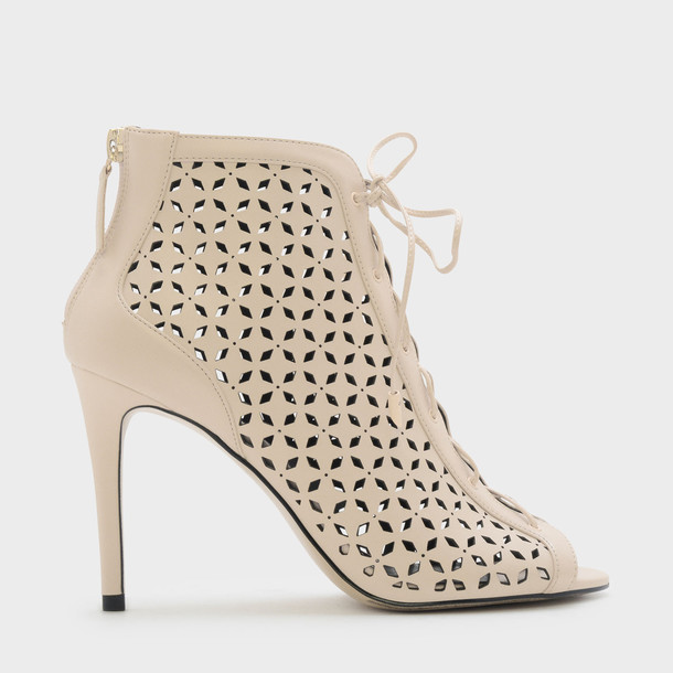 ankle boots nude shoes