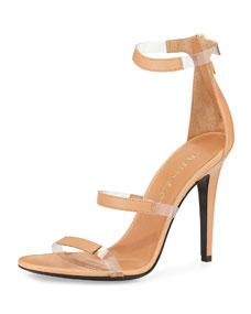 Band sandal, nude
