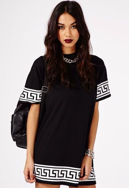 T shirt black dress baggy shirt t shirt dress dress for T shirt dress outfit tumblr