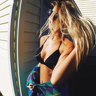 swimwear triangle string halter underwire underwire bikini top string bikini