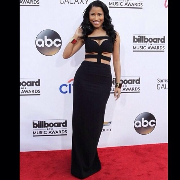 dress black dress cut-out dress maxi dress long black dress nicki minaj fitted maxi black prom formal alexander mcqueen