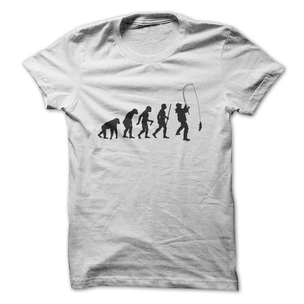Evolution Of A Fisherman T-Shirt & Hoodie