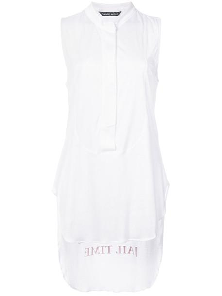 Thomas Wylde vest sheer women white jacket