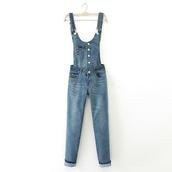 jeans,overalls,denim,suspenders,jumpsuit
