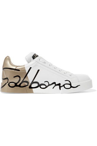 matte sneakers leather white shoes