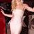 Asymmetric Bardot Bandage Dress Pink