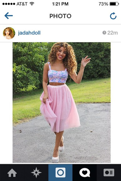 bandeau top crop tops cute pastel bustier jadahdoll model cutie love skirt