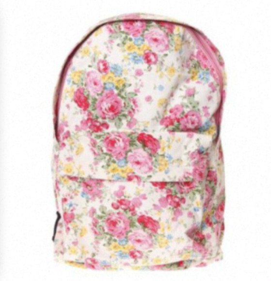 cute fashion original girly vintage bag floral flower floral bag