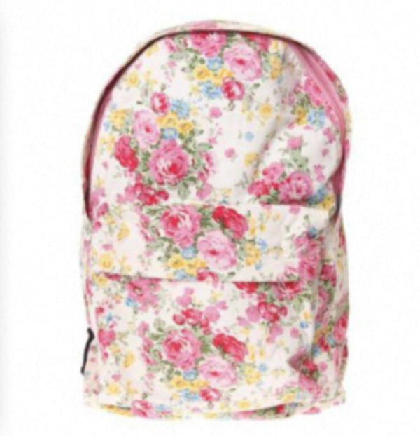 bag flowers flowers floral floral bag original cute girly vintage fashion