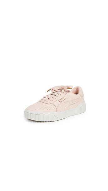 PUMA Cali Emboss Sneakers in cream