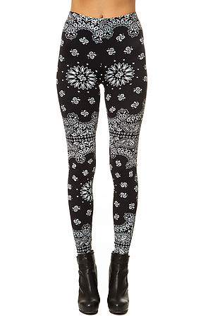 O-Mighty Leggings Bandana Paisley in Black -  Karmaloop.com