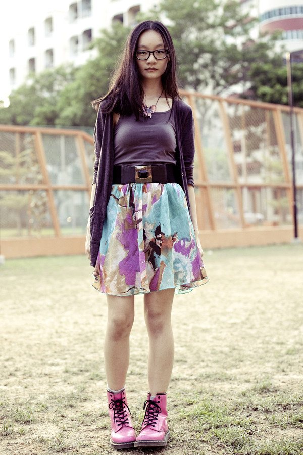 pupuren top jewels skirt shoes t-shirt jeans bag