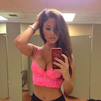 top prettygirl girl brunette hair fashion pink
