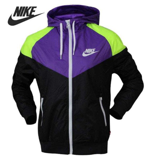 jacket nike windbreaker windbreaker green jacket purple black nike women 0e221a16e