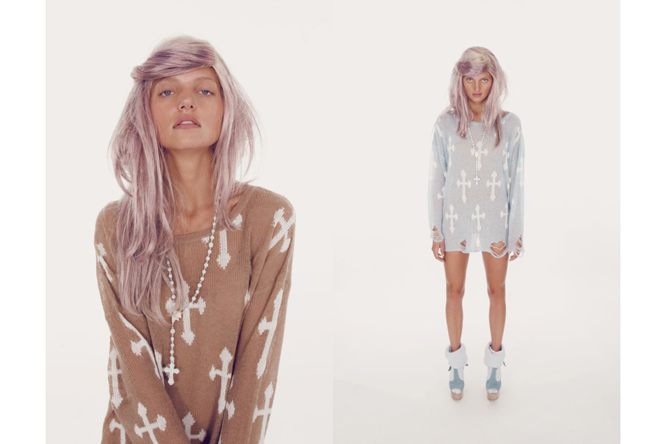 White label spring at  wildfox couture