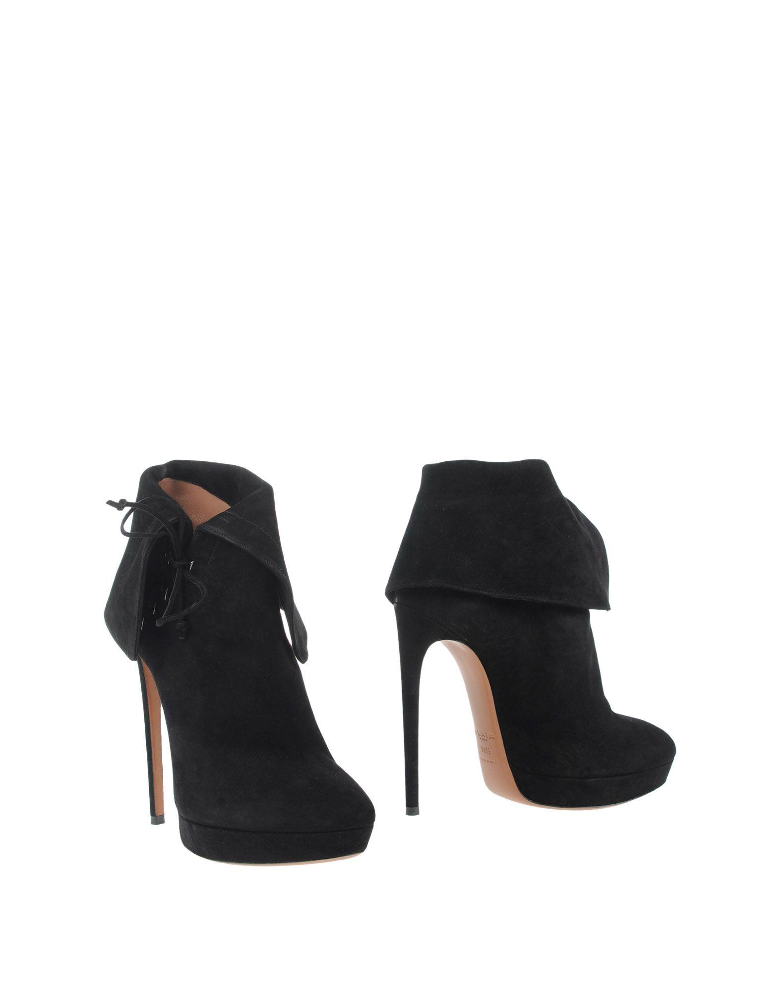 ALAÏA Ankle boots - FOOTWEAR D | YOOX.COM