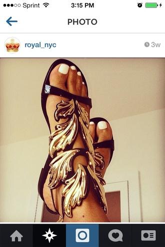 shoes high heels black wings kanye west cupid