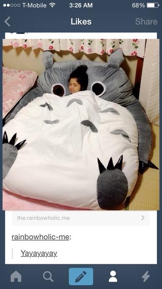 bag bedding chinese japenese sofa pillow studio ghibli totoro