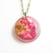 jewels,summer summer handcraft,red rose,rose,flowers,floral,necklace,handmade,cute,gift ideas,giftideas,jewwlry