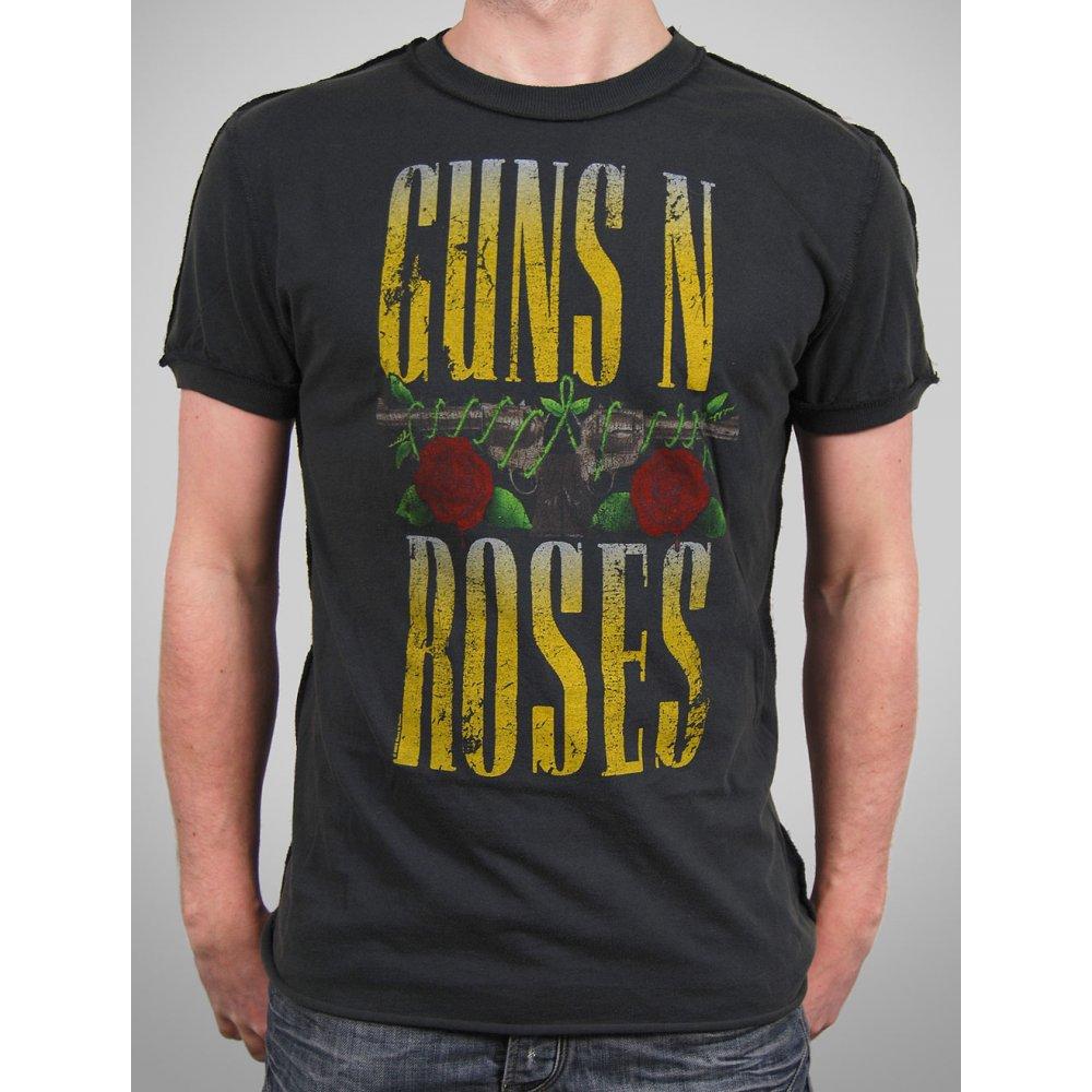 amplified mens vintage guns n roses pistols t shirt char. Black Bedroom Furniture Sets. Home Design Ideas
