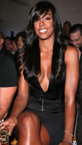 kelly rowland black dress dress