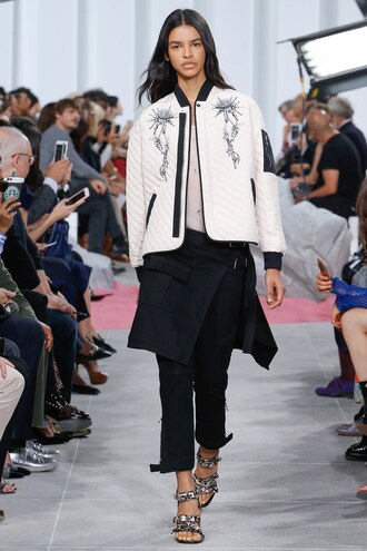jacket pants top runway paris fashion week 2016 carven