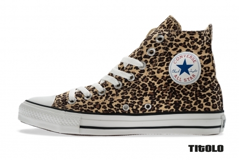 Converse All Star Hi Leopard 1J267 Brown Beige Titolo