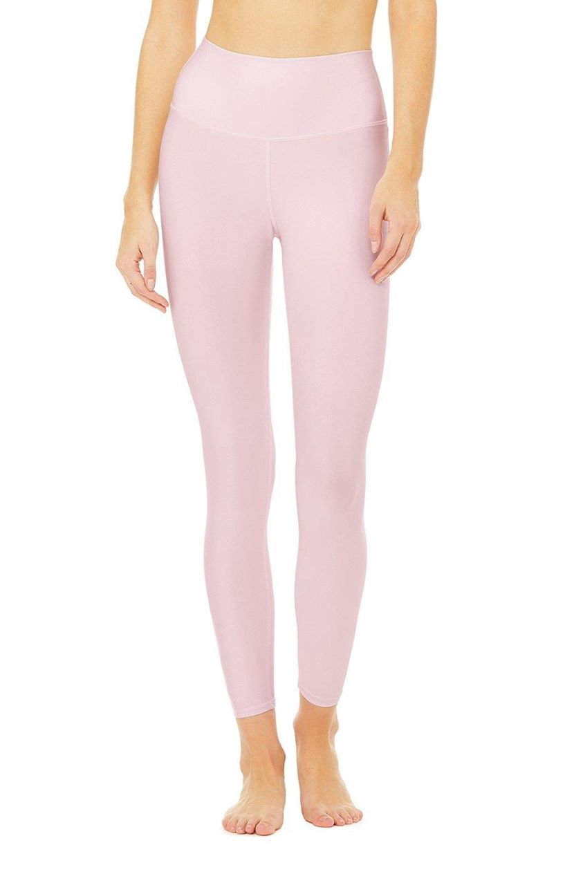 7/8 High-Waist Airlift Legging - Soft Pink