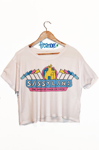 SassyLand Crop Shirt - Fresh-tops.com
