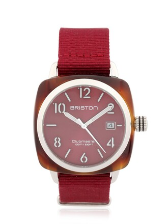 classic watch burgundy jewels