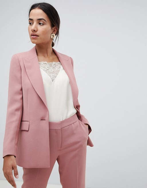 Reiss Tailored Longline Jacket at asos.com