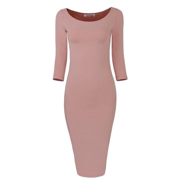 Beige color casual dress