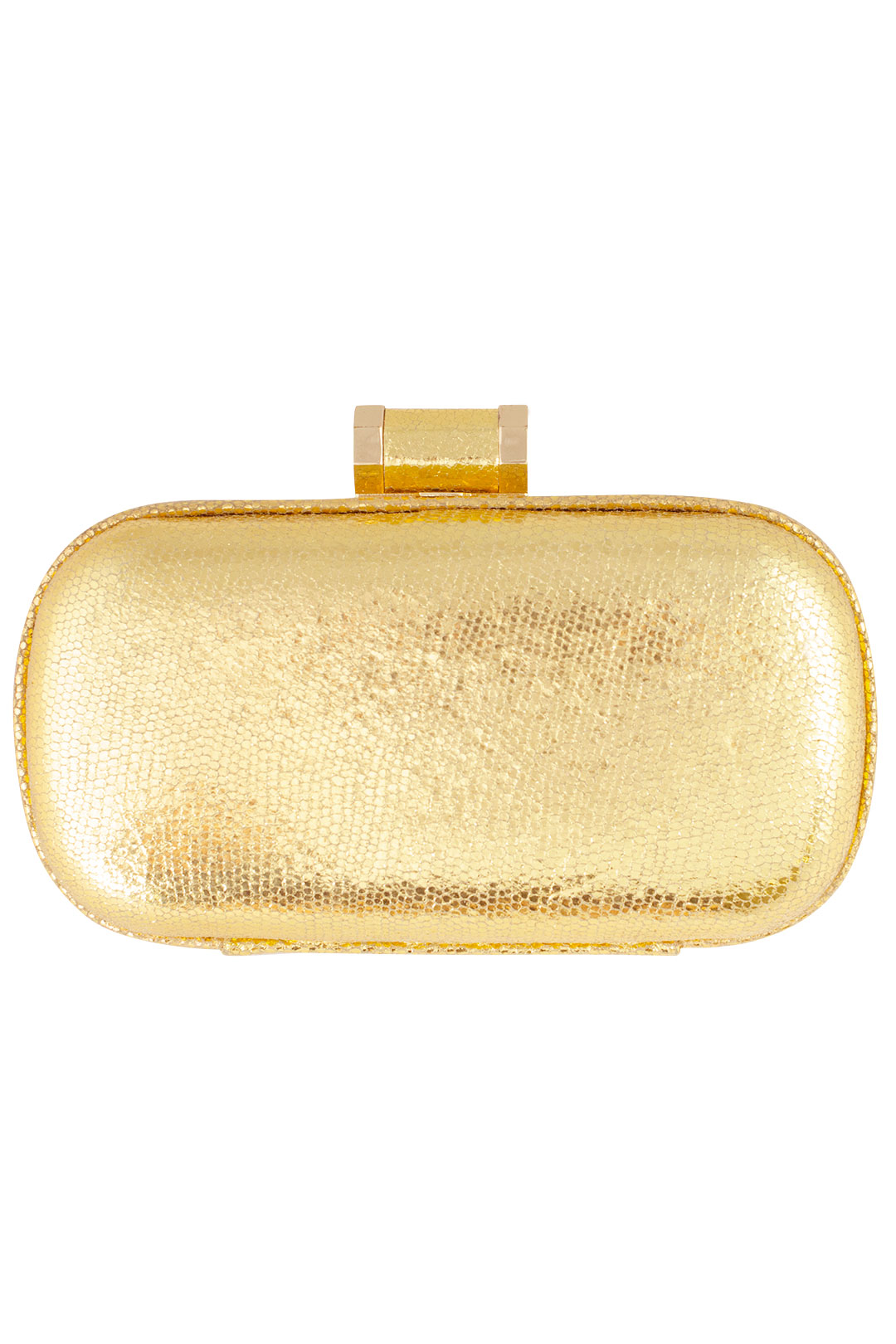 Golden Ticket Clutch by Halston Heritage Handbags at $10 | Rent The Runway