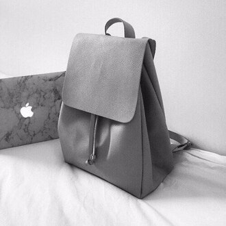 bag purse grey tumblr apple nastygal all grey everything