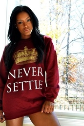 sweater,burgundy,gold,crown,sweatshirt