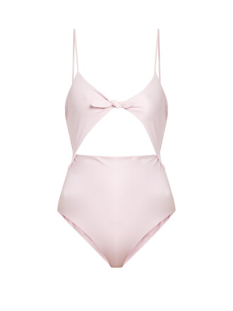cut-out swimsuit cut-out pink swimwear