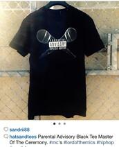 t-shirt,parental advisory explicit content,black t-shirt