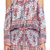 Blue Life Shirred Waist Halter Dress in Red & Blue Mandala from REVOLVEclothing.com