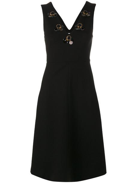dress embellished dress women spandex embellished black silk