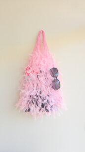 bag,purse,bags and purses,market,bookbag,beach,pink bag