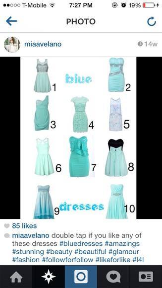 teal dress dress blue dress