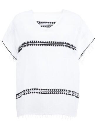 t-shirt shirt rustic white top