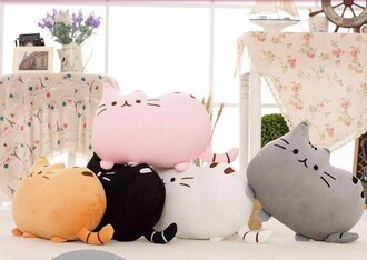 home accessory cats pillow pusheen