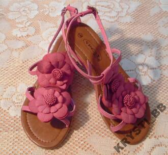 shoes black sandals flower sandals flat sandals summer