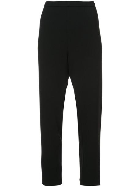 high women black pants