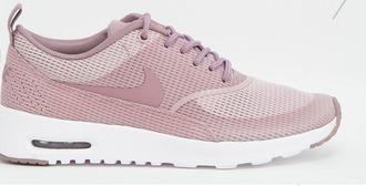 shoes nike nike shoes plum pink dusty pink sneakers nike sneakers girly
