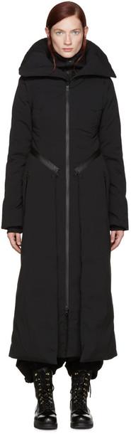 Y-3 Black Convertible Down Coat