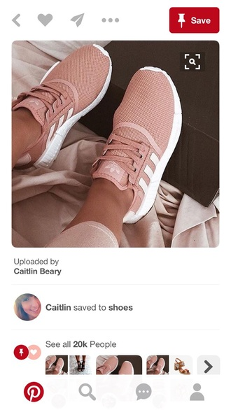 shoes adidas rose gold pink sneakers